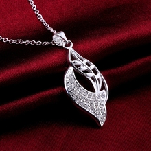 2015 western party gifts fashion crystal inlaid stones jewlery delicate wholesale celebrity necklace 925 silver necklace