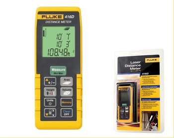 Freight can be proposed Fluke F416D Laser Distance Meter 60m 200ft Full Pythagoras function good quality Original Genuine(China (Mainland))