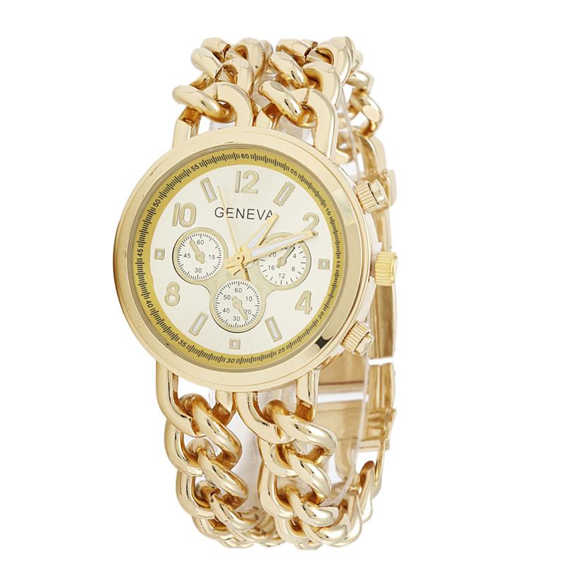 2016 new arrival geneva chain luxury gold designer