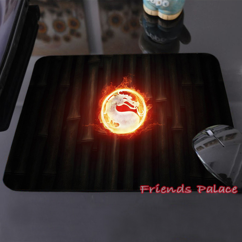 Collection Characters of Mortal Kombat LLogo Personalized Silicon Mouse Pad Amazing Rectangular Mice Mats for Computer Laptop(China (Mainland))