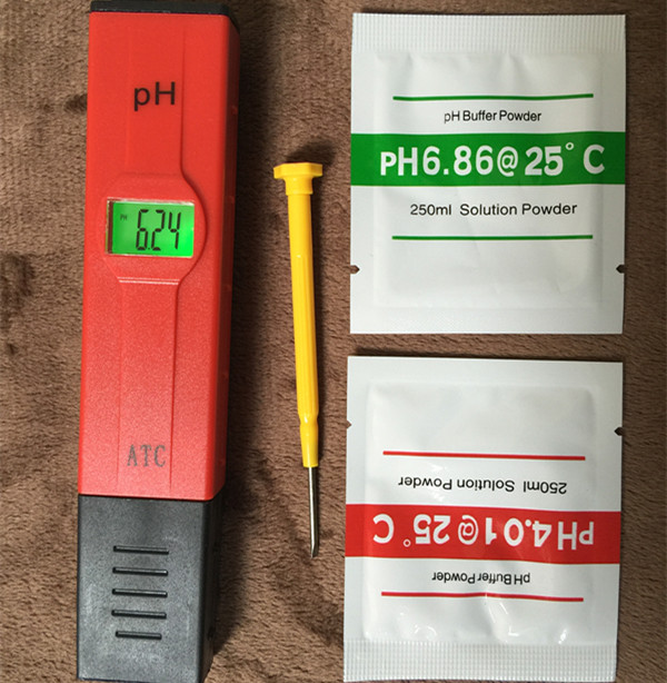PH Tester Monitor Aquarium Pool SPA Meter Water Quality purifiers filter 0.00 - 14.00 pH For Laboratory with backlight(China (Mainland))