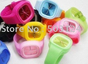 Wholesale-CHEAPEST-Jelly Watch ,hot sale watch specials DD612 FREE SHIPPING