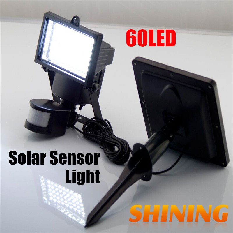 solar motion sensor pir induction flood light lighting floodlight. Black Bedroom Furniture Sets. Home Design Ideas