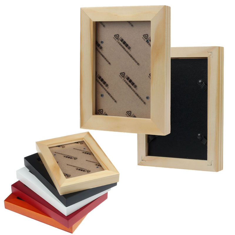 New Classic Home Decor Wooden Picture Frame Wall Mounted Hanging Photo Frame cases wood material on sale(China (Mainland))