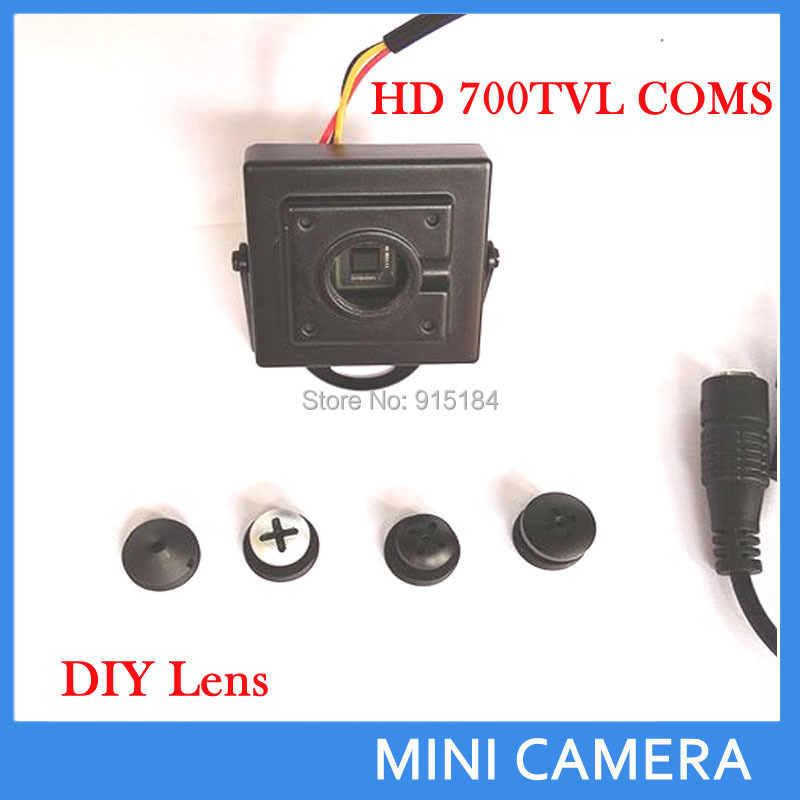 DIY micro camera HD 700TVL wired mini hidden screw button lens camera CCTV security CAMERA(China (Mainland))