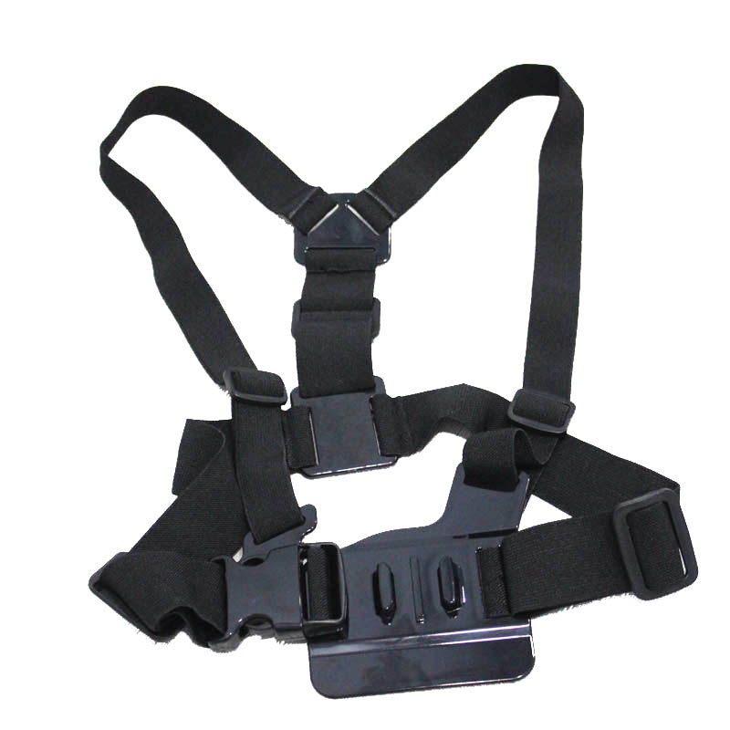 GoPro Accessories Harness Adjustable Elastic Shoulder Chest Strap For