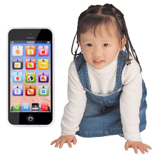 1Piece Baby Kid Educational Y-phone English Learning Mobile Phone Toy Chrismtas New Year Gifts  FM0215 (China (Mainland))