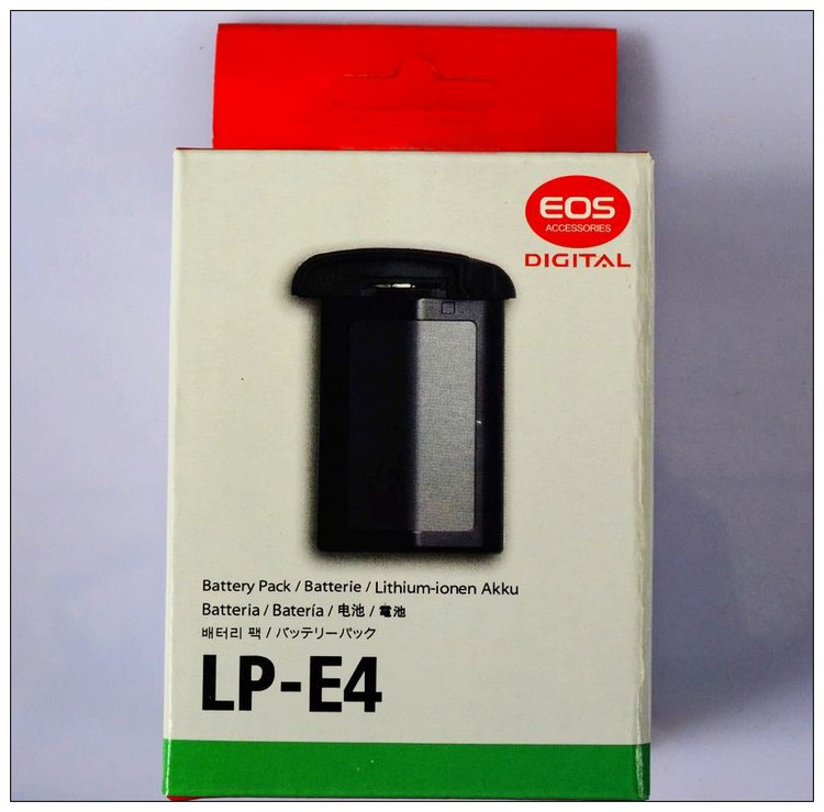 New LP-E4 LPE4 LP-E4N Camera Rechargeable Battery For Canon EOS 1Ds Mark III 1D Mark III 1D3 Mark IV 4 Mark4 / 1Ds3 1Ds4 1D4(China (Mainland))