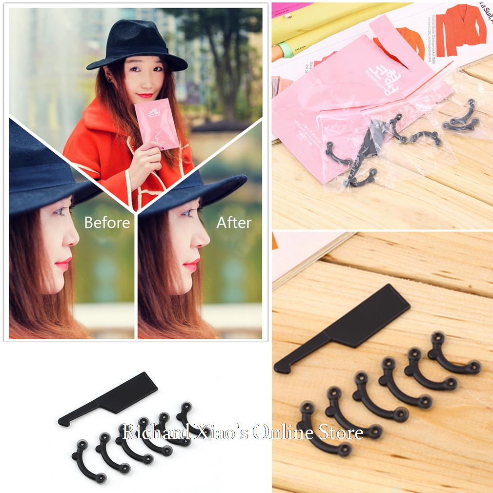 1 Set 3 Size Nose Up Lifting Nose Shaping Clip Clipper Shaper Beauty Tool No Pain(China (Mainland))