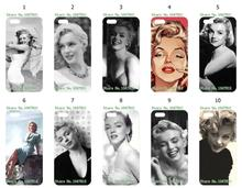 Buy Mobile Phone Cases Wholesale 10pcs/lot Marilyn Monroe1 Protective Plastic White Hard Case Cover IPHONE 5C Cases for $14.40 in AliExpress store