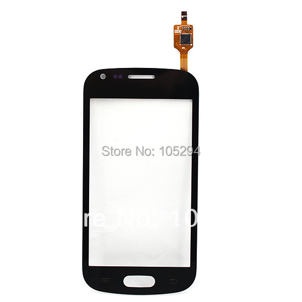 Black New Touch Screen Digitizer glass panel Lens For Samsung S7562 Galaxy Trend Duos Free Shipping