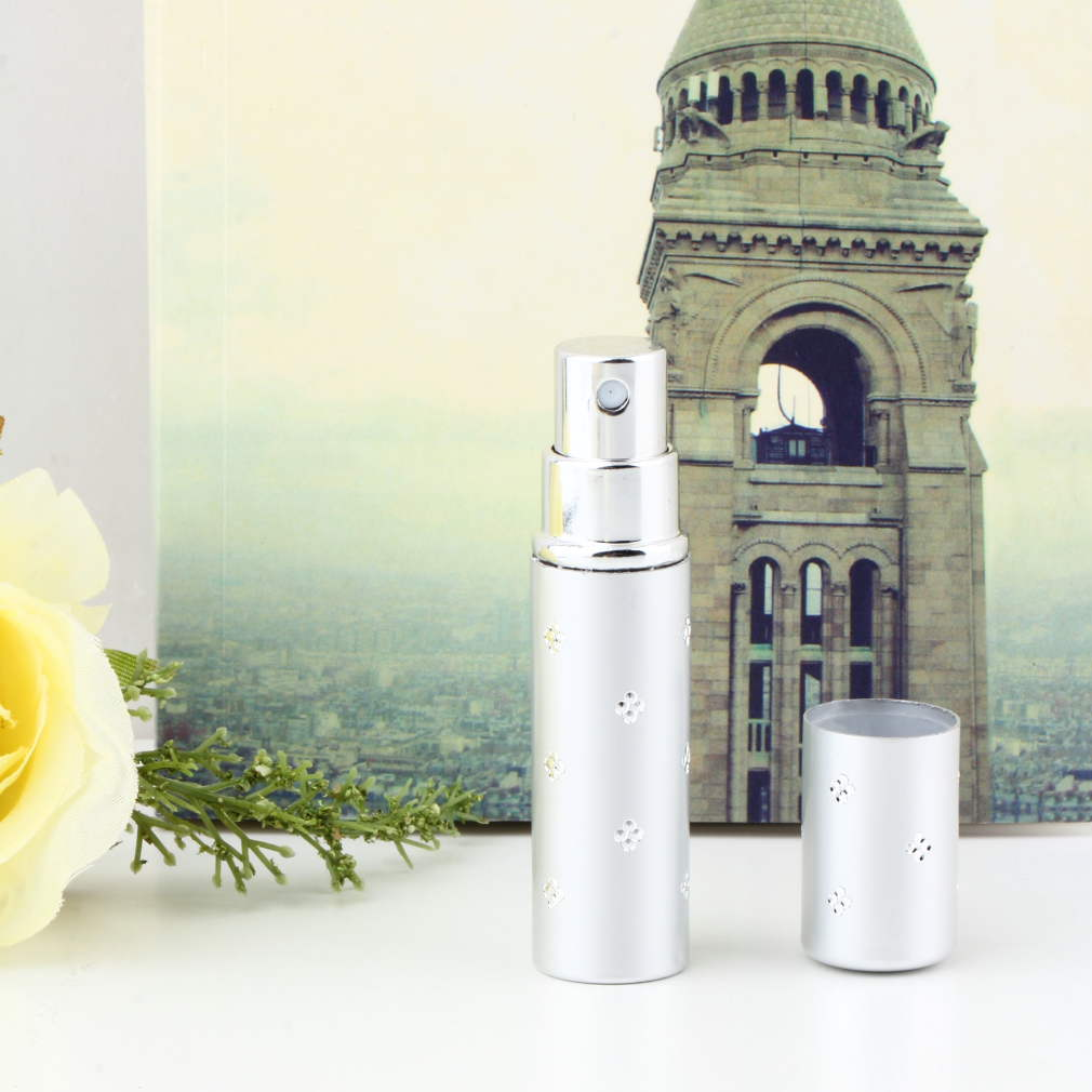 Top Quality 2015 New Fashion Travel Mini Deluxe Refillable Atomiser Spray Perfume Bottle(China (Mainland))