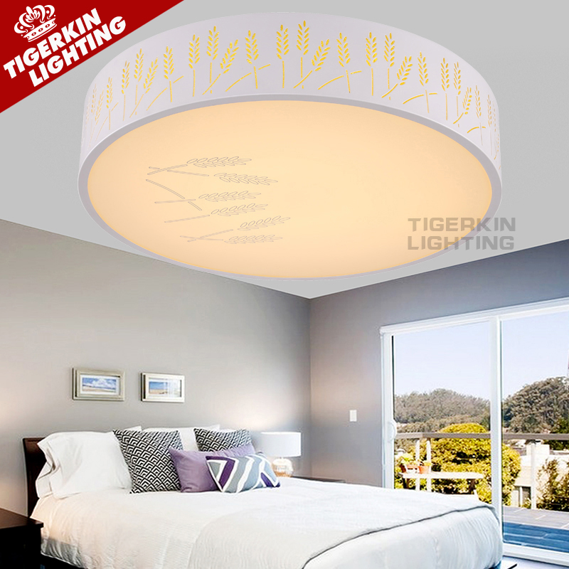 Modern Led Ceiling Lights For Indoor Lighting plafon led Round Ceiling Lamp Fixture For Living Room Bedroom Lamparas De Techo(China (Mainland))