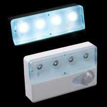 Infrared PIR Auto LED Sensor Light Motion Detector Lamp Night Light(China (Mainland))