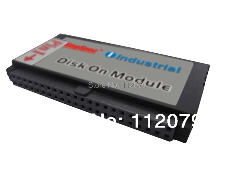 New Kingspec SSD IDE DOM 44PIN MLC 8GB(KDM-44VS.2-008GMS) Industrial Disk On Module Solid State Drives Vertical+Socket(China (Mainland))