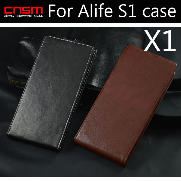 1/lot New free shipping High quality Classical Synthetic leather cow leather case for Blackview Alife S1 phone case(China (Mainland))