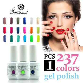 Saviland 15ml gelpolish nail gel polish soak off UV gel nail vernis 237 Colors gel lacquer French manicure kit High quality