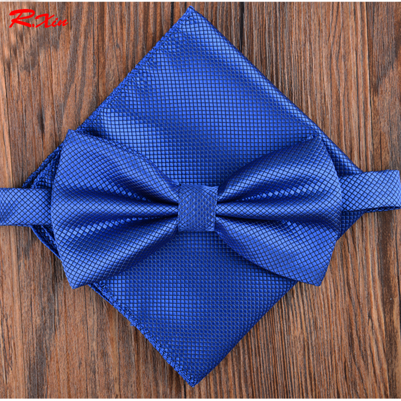 New 2016 bowtie men vintage wedding dress suits bow tie pocket square handkerchief set lote butterfly Одежда и ак�е��уары<br><br><br>Aliexpress