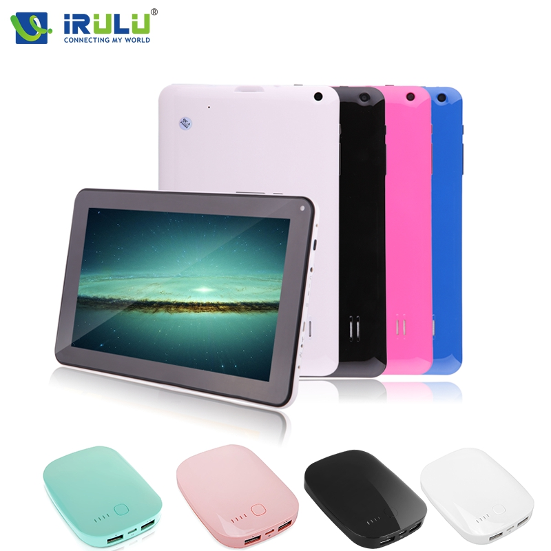 "iRULU X1Pro 9"" Tablet Google GMS Tested W/ 6000mAh Power Bank Android 4.4 Quad Core Tablet 8GB Bluetooth WIFI Computer Dual Cam(China (Mainland))"