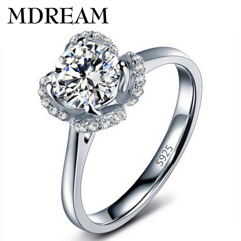 wholesale ring market 70% silver ring Platinum filled with AAA Zircon women wedding classic rings jewelry gift LSR058(China (Mainland))