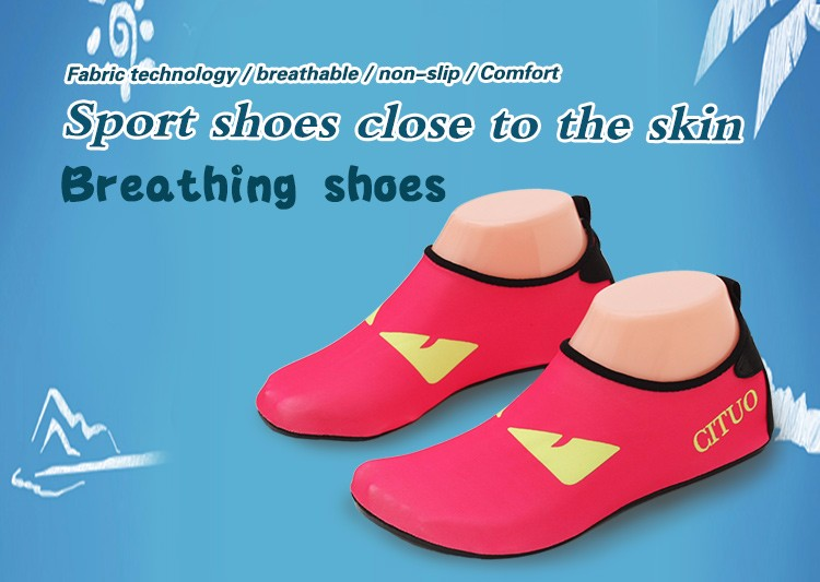 Children Swimming Shoes For Spring Summer Beach Swimming Flats Slip On Shoes Unisex Shoes