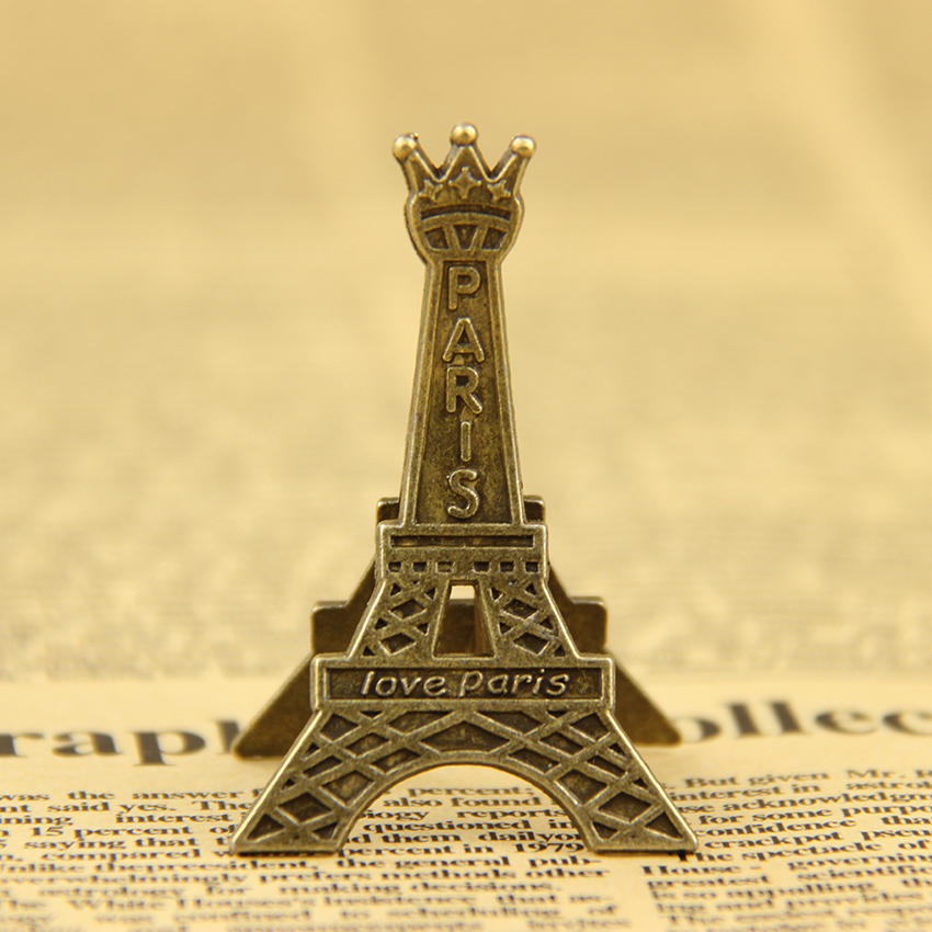 1 PCS Paris Eiffel Tower Metal Clips for Message Decoration Photo Office Supplies Accessories(China (Mainland))