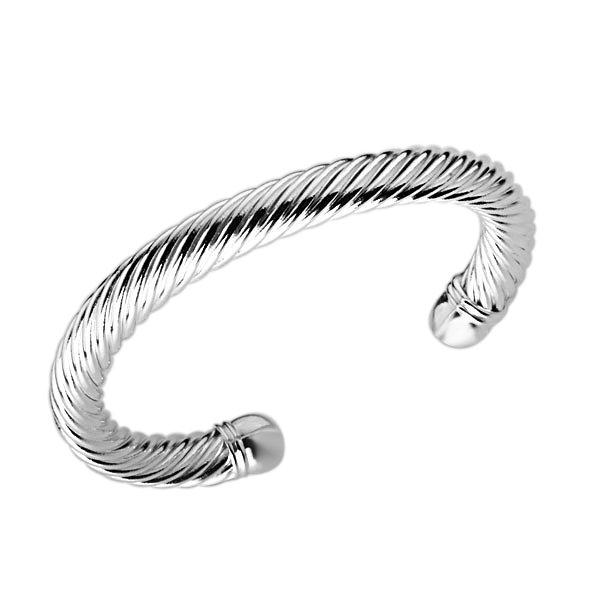 free shipping b030 fashion silver plated bangle,Silver Bracelet Soft Twisted Bangle Flexible Snake Skin Links Small Cuff(China (Mainland))