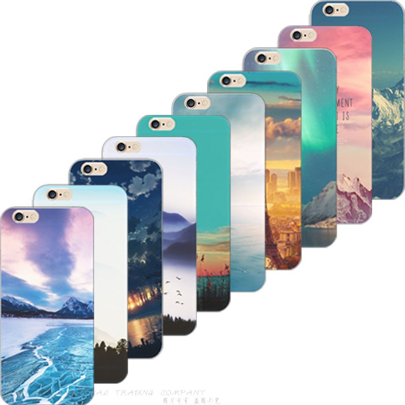 Гаджет  Painting Brilliant Starry Sky Soft Silicon Cover For Apple iPhone 4 iPhone 4S Cases Case For Phone4S Phone Shell H-LF HZK KXC HR None Телефоны и Телекоммуникации
