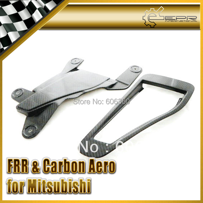 FOR Mitsubishi Evolution EVO 7 VII CT9A Carbon Fiber OEM Naca Hood Air Vents Duct(China (Mainland))