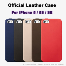 High Quality 1:1 As Official Leather Phone Cases For iPhone 5s PU Leather Cover For iPhone 5 For iPhone SE With Logo Fundas Capa(China (Mainland))