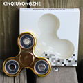 5 Color Fidget Spinner Finger ABS EDC Hand Spinner Tri For Kids Autism ADHD Anx Long