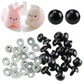 20PCS Black Plastic Safety Eyes For Teddy Bear Dolls Toy Animal Felting 6 20mm