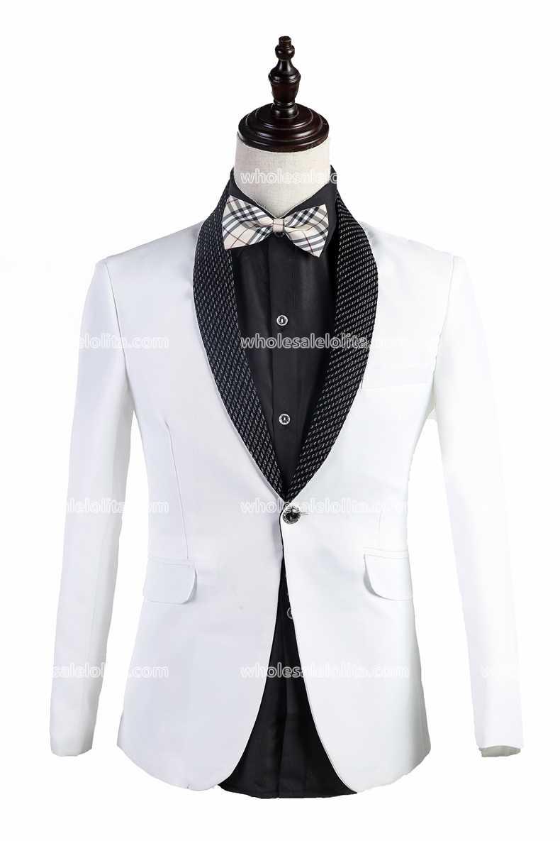 Здесь можно купить  Customized White Mens Prince Suits Party  Costume  Одежда и аксессуары