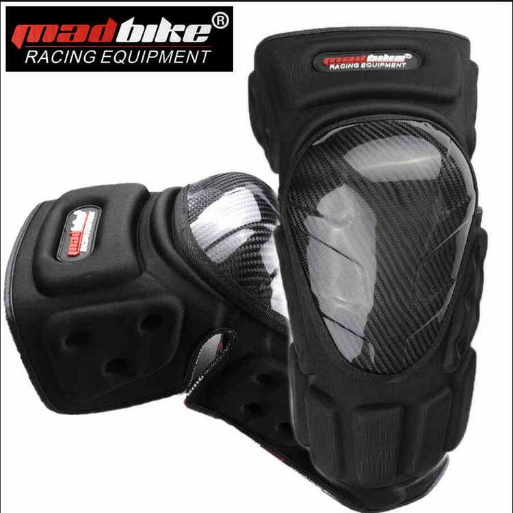 Professional Carbon Fiber Sport Knee Protector For Sport&Motorcycle Knee Guards K022(China (Mainland))