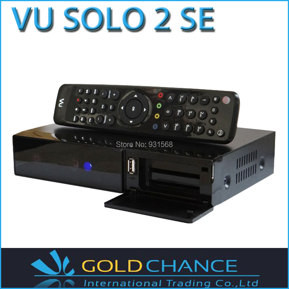 Vu Solo2 SE Twin Tuner Vu Solo 2 SE update from vu solo2 mini Linux Reciever 1300 MHz CPU digital satellite tv recever(China (Mainland))