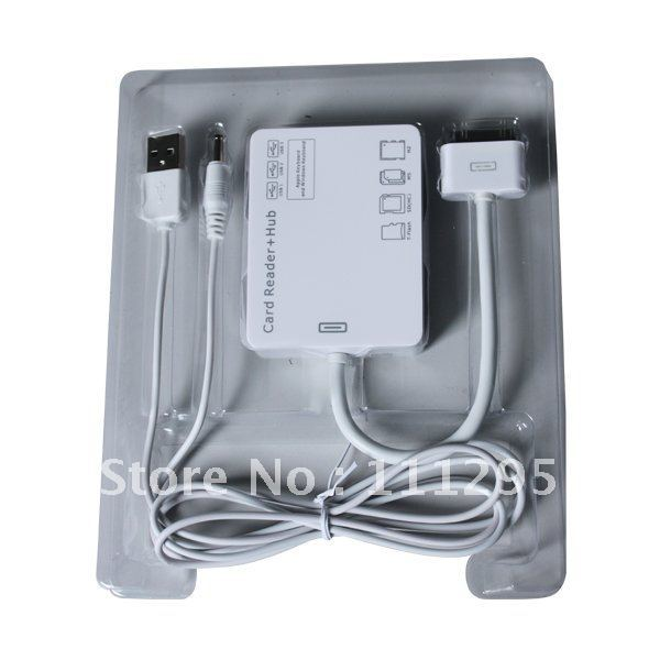 USB Cable Adapter for iPad2,iPad 1, iPhone 4, iPhone 3G/3GS, iPod Touch 4