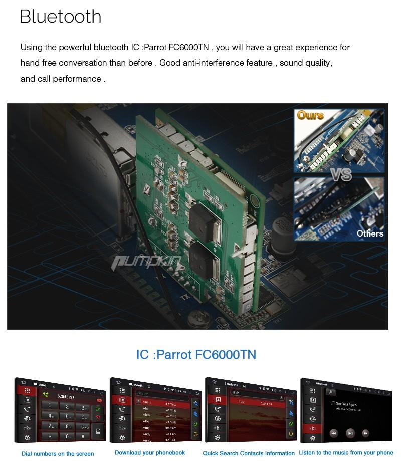 """Купить Тыква 8 """"Android 5.1 Сенсорный Экран Dvd-плеер Автомобиля Для VW/Volkswagen/POLO/PASSAT/Golf/Skoda/Seat Canbus GPS Навигации Радио FM"""