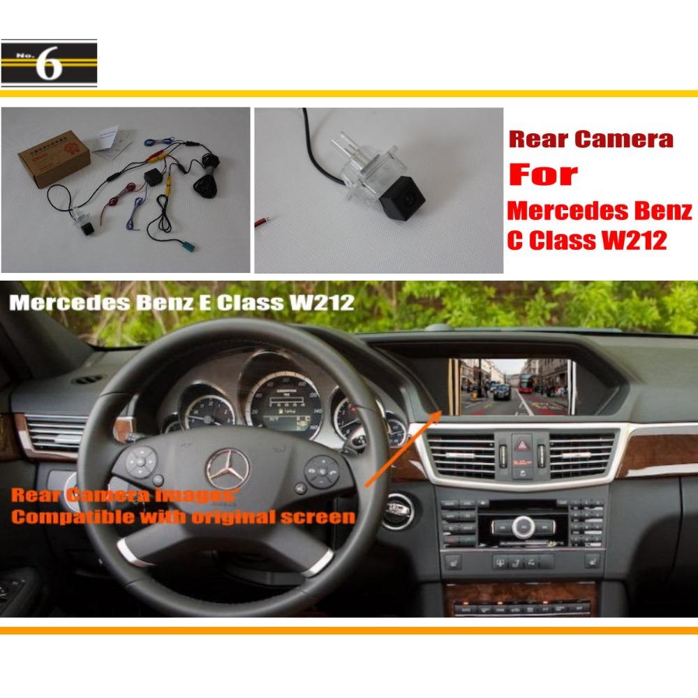 Car Rear View Camera / Back Up Reverse Parking Camera For Mercedes Benz S W222 / C217 2013~2014 / Original Screen Compatible<br><br>Aliexpress