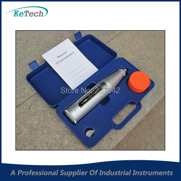 Testing Equipment Concrete Test Hammer, Concrete Rebound Tester HT225B Shell Is Made of High Polymer Material(China (Mainland))