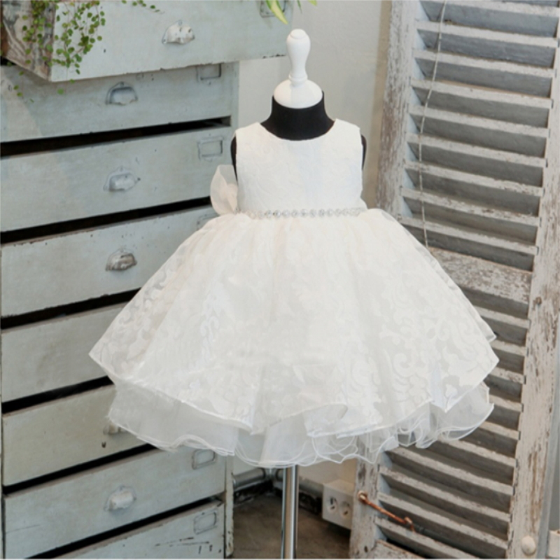 High-end Vintage Princess Baby Dresses Girl 2015 New 1 Year Baby Birthday Dresses For Girls Kids Ceremonies Christening Gowns(China (Mainland))