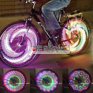 Buy colorful bike wheels bicycle light for 70 bike decoration