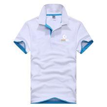 Nouveau Commodore-64 logo solide polo hommes été tricot coton col montant camisa polo masculina séchage rapide coupe ajustée ralp polos chemise(China)