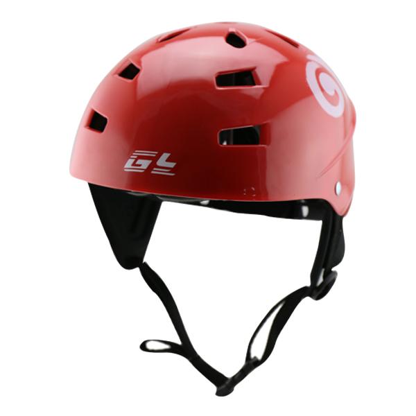 Red color water sports helmet ,best sale kayak helmet with ABS Wave &kitesurfing sailing helmet(China (Mainland))