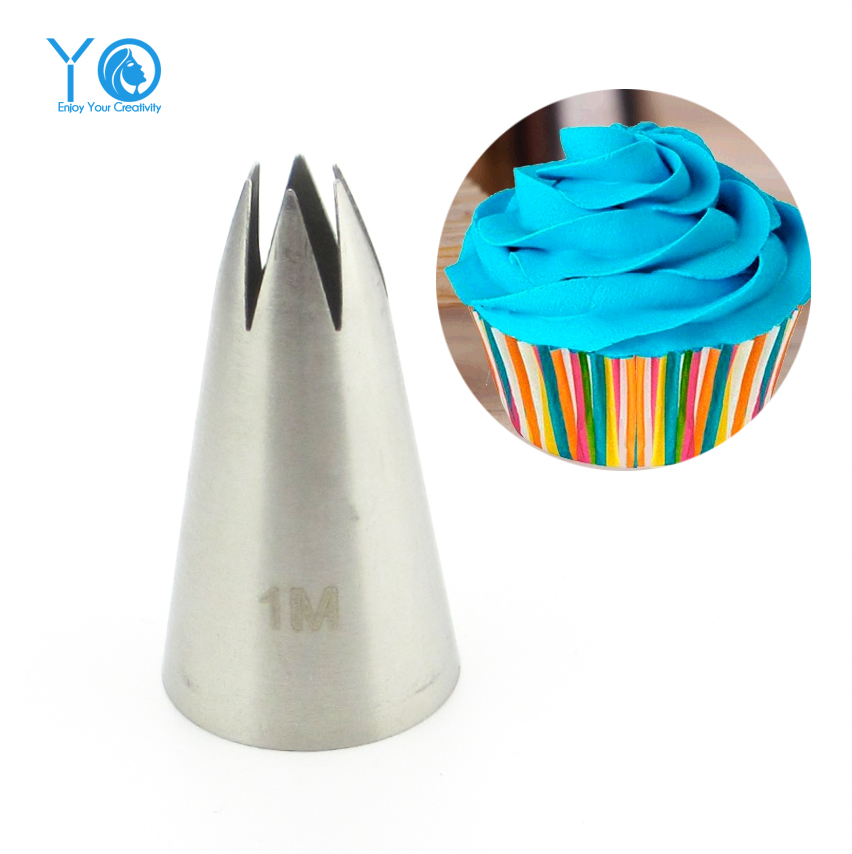 #2110#1M Nozzle Cake Decorating Tips Stainless Steel Writing Tube Icing Nozzle Baking & Pastry Tools Baking Tools For Cakes(China (Mainland))
