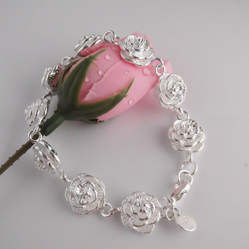 925 sterling silver bracelets female models rose Miss Han Ban jewelry birthday gift ideas - Taste Boutique store