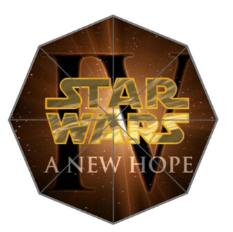 A NEW HOPE Star Wars Custom Best Nice Cool Design Portable Fashion Stylish Useful Foldable Umbrella Good Gift Idea!Free Shipping(China (Mainland))