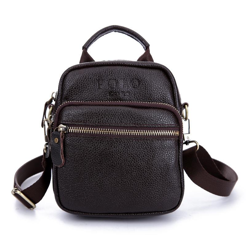 Designer Handbags High Quality Men's Travel Bags Vintage Retro Style Genuine Leather Mens tote Bag Men Messenger Shoulder bags(China (Mainland))