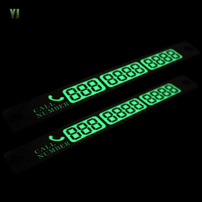 Car Styling Temporary Parking Card Stickers Car Phone Number To Move The Car With Luminous Sign CT2464<br><br>Aliexpress