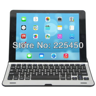 Aluminium alloy Metel air Keyboard for Apple iPad air 5th Air iPad air keyboard Free Shipping(China (Mainland))