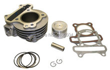 50cc QMB139 4-stroke 72cc 47mm Big Bore Cylinder Kit for Chinese Moped Scooter GY6, MADE IN TAIWAN!(China (Mainland))
